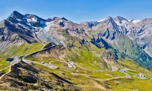 GrossGlockner wycieczka trip route alpy samochodem zwiedzanie europy eurotrip