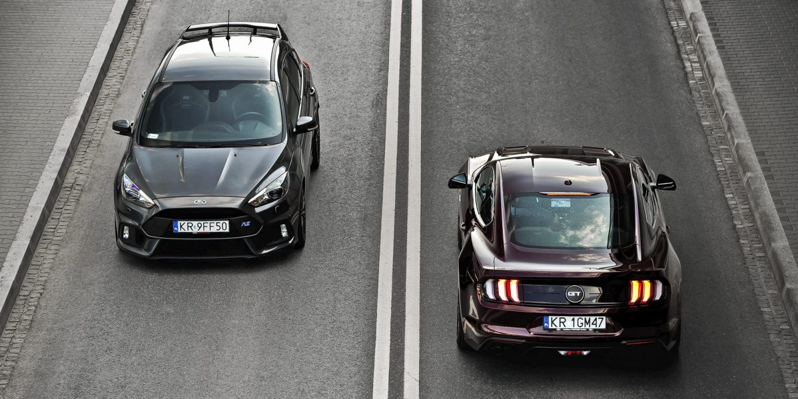 Ford Focus RS & Mustang GT